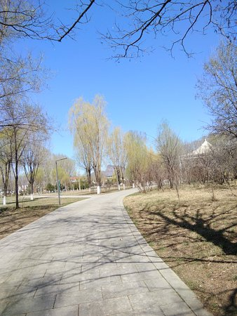 Xuanhua County, จีน: 公园随手一拍
