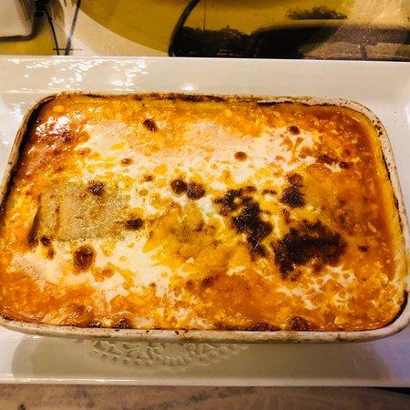 La Route des Pates: Cannelloni façon mexicaine Mets exquis!!!