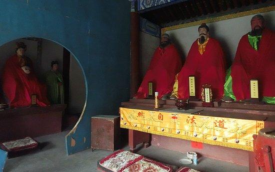Zhuozhou, China: 刘关张是义气的代名词