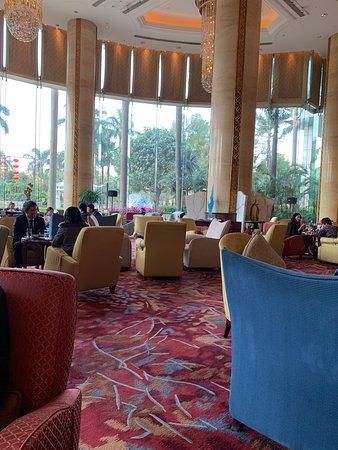 广州香格里拉酒店大堂吧