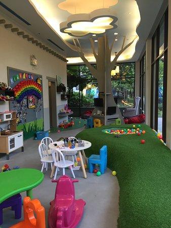 儿童区域(室内)