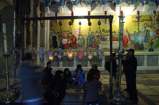 耶路撒冷 圣墓教堂。