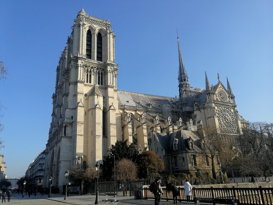 Cathédrale Notre-Dame de Paris: 巴黎圣母院外观
