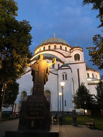 Belgrade, Serbia: Crkva Svetog Marka