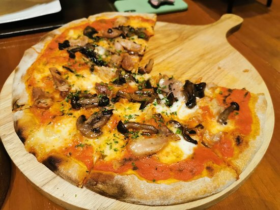 Romano's: Everything about mushroom are sooo great! Can't miss