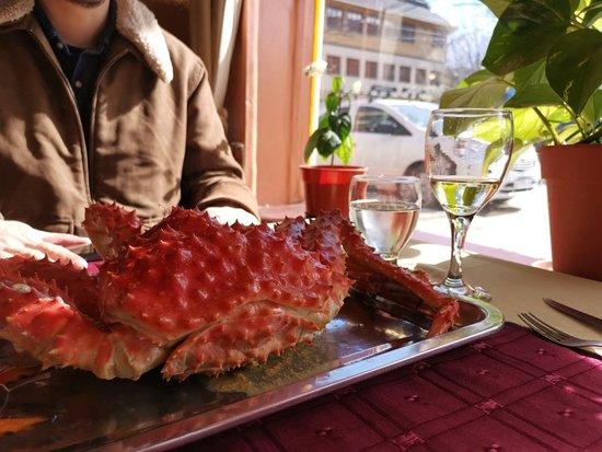 最好吃的帝王蟹