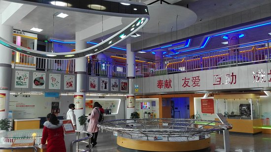 Tongling, Китай: 科技馆规模不大