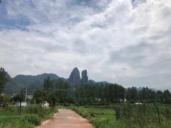 Jiangshan, China: 江郎山回头客农庄
