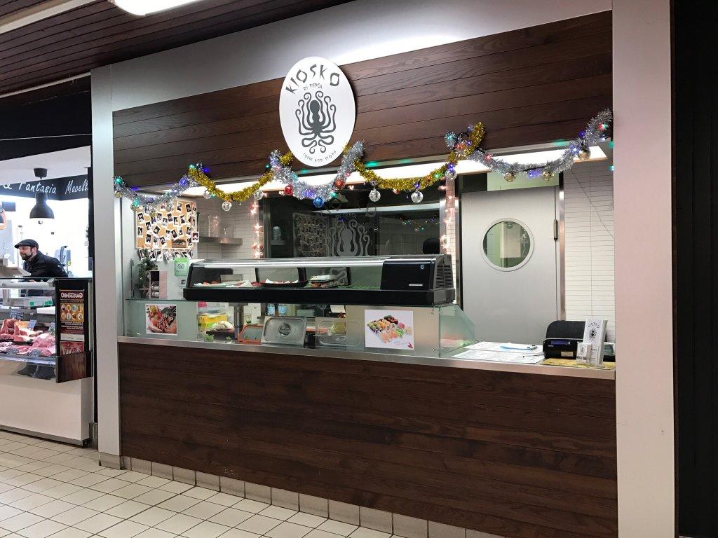 Ristorante kiosko sushi and more in milano con cucina for Cucine giapponesi