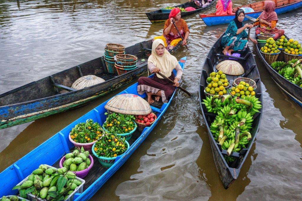 lok baintan floating market banjarmasin ce qu 39 il faut savoir pour votre visite tripadvisor. Black Bedroom Furniture Sets. Home Design Ideas
