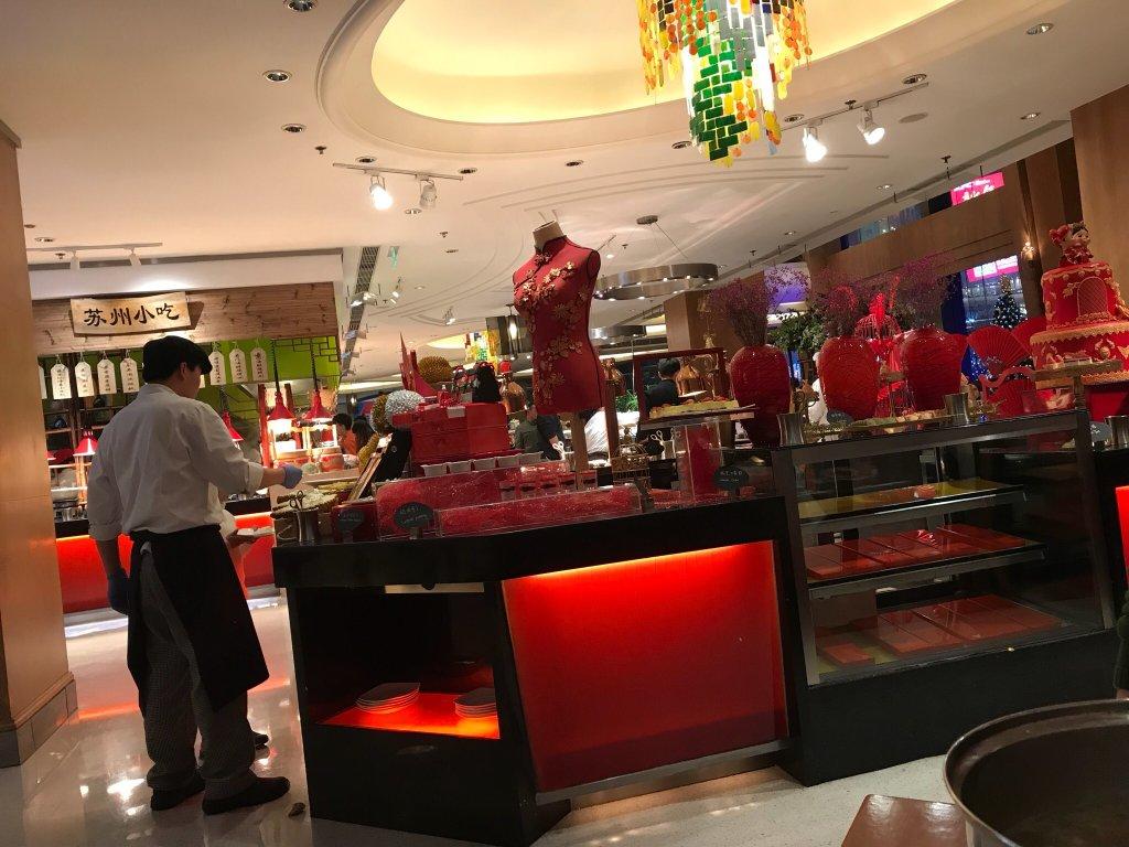 Xiangge lila restaurant buffet suzhou restaurant - Sideboard lila ...