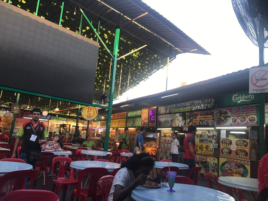 Restraunt Night Dunk Island: Red Garden Food Paradise & Night Market, George Town
