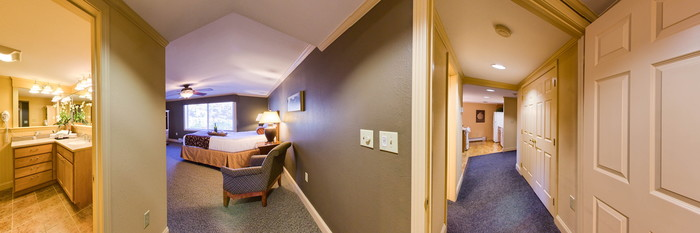 Panorama of the 2 BR Deluxe at the InnSeason Resorts Pollard Brook