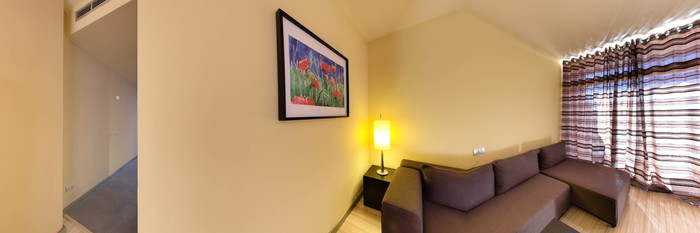 Panorama of the Accessible Junior Suite at the Labranda Hotel Riviera Marina
