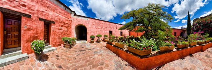 Panorama at the Quinta Real Oaxaca