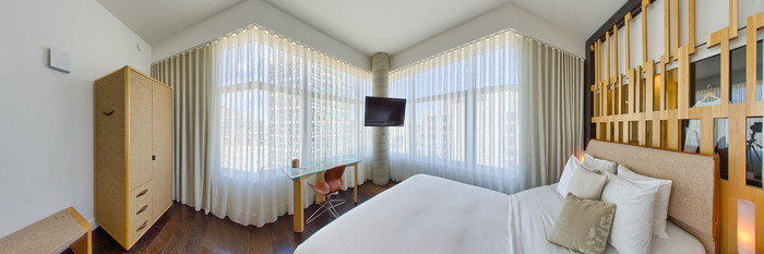 Panorama of the Apartment Suite at The James New York - SoHo