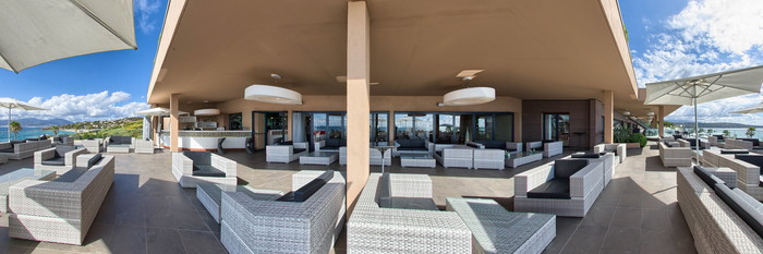 Panorama at the Radisson Blu Resort & Spa, Ajaccio Bay