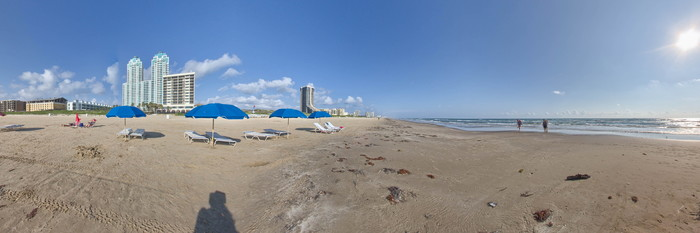 Panorama at the Pearl South Padre