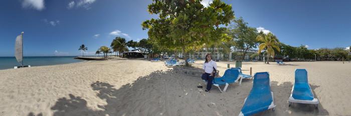 Panorama at the Grand Paradise Playa Dorada