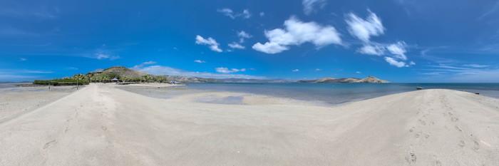 Panorama at the Volivoli Beach Resort Fiji