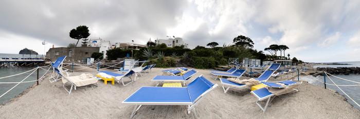 Panorama at the Grand Hotel Punta Molino