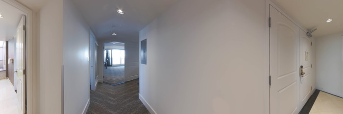 Panorama of the Boardroom Penthouse at the DoubleTree by Hilton Hotel & Suites Victoria