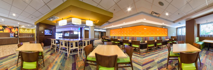 Panorama at the Fairfield Inn & Suites Edmonton North