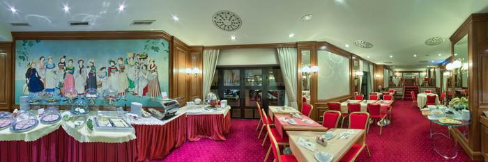 Panorama at the Lugano Dante Center Swiss Quality Hotel