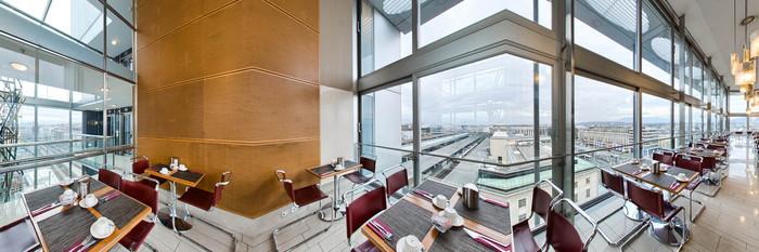Panorama at the Cornavin Hotel Geneva