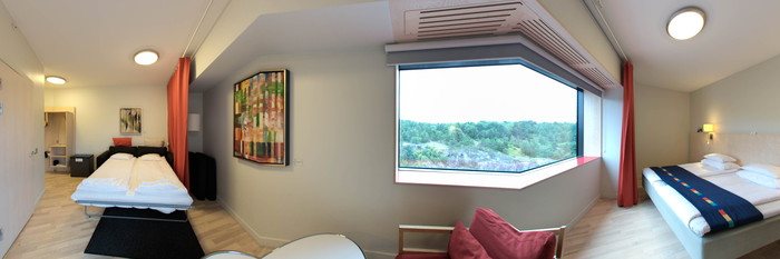 Panorama of the Business Friendly Room at the Park Inn by Radisson Stockholm Hammarby Sjostad