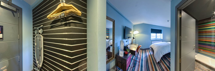 Panorama of the Club Room at the Village Hotel Coventry