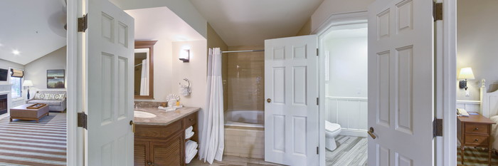Panorama of the Cottage Juior Suite at The Lighthouse Lodge