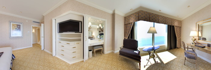 Panorama of the Cypress Suite at the Beau Rivage Resort & Casino Biloxi