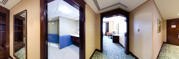 Panorama of the Deluxe Room at the One to One - Concorde Fujarah Hotel