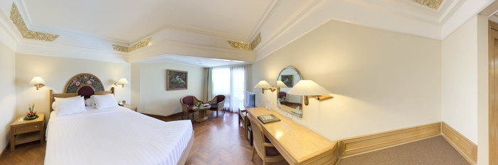 Panorama of the Deluxe Room at the Prama Sanur Beach Bali
