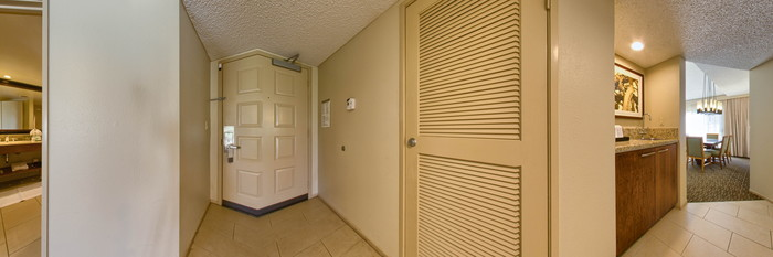 Panorama of the Deluxe Suite View at the Westin Mission Hills Golf Resort & Spa