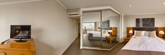 Panorama of the Deluxe Two Bedroom Executive Apartment at The York by Swiss-Belhotel International