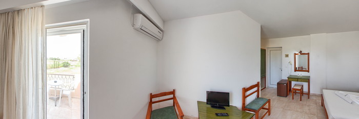 Panorama of the Double Standard Room at the Summer Village Hotel