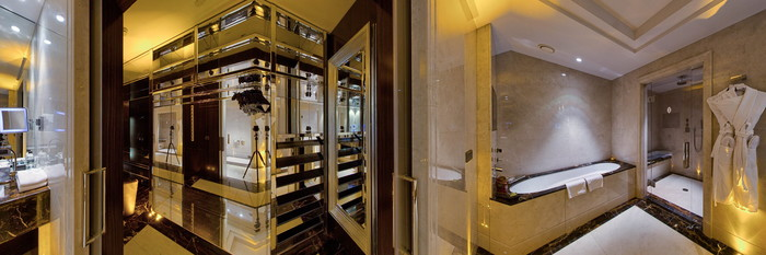 Panorama of the Duncan Premium Suite at the InterContinental Moscow Tverskaya Hotel