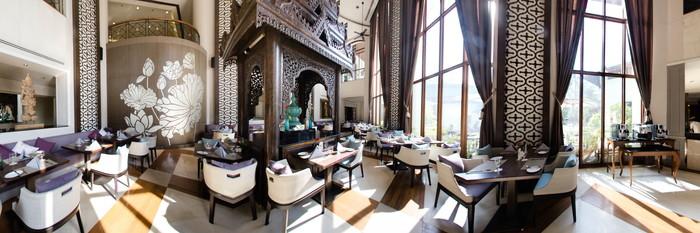 Panorama at the Chatrium Hotel Royal Lake Yangon