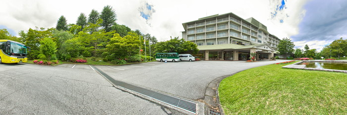 Panorama at the Fuji View Hotel