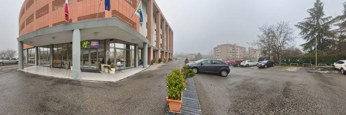 Panorama at the Holiday Inn Express Parma