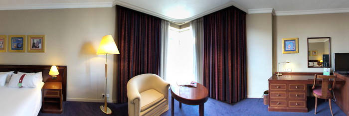 Panorama of the Executive at the Holiday Inn Madrid