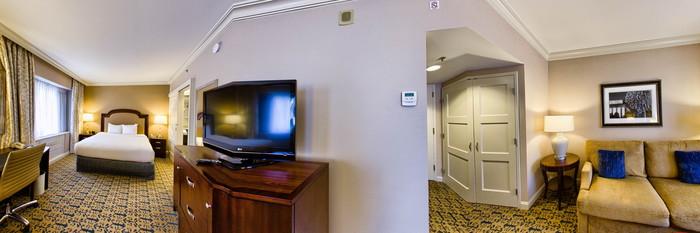 Panorama of the Executive Room at the Capital Hilton