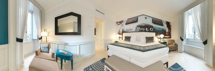 Panorama of the Executive Room at Hotel Indigo Rome - St. George