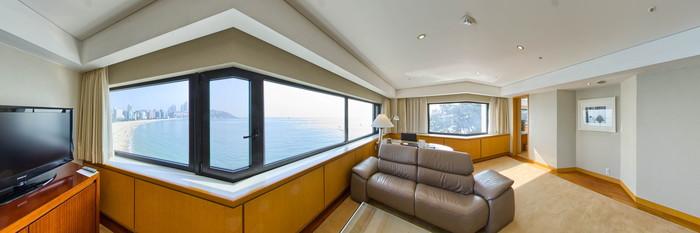 Panorama of the Executive Suite at The Westin Chosun Busan