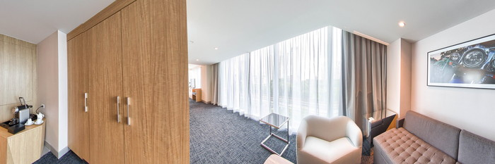 Panorama of the Executive Suite at the Atton Brickell Miami