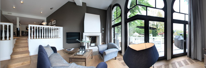 Panorama of the Executive Suite at the Nimb Hotel