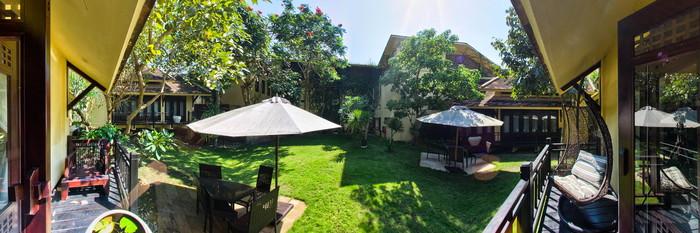 Panorama of the Executive Villa at The Blossom Resort Danang
