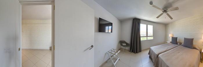 Panorama of the Family Room at the Dunas Mirador Maspalomas